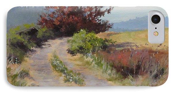 The Red Tree IPhone Case by Karen Ilari