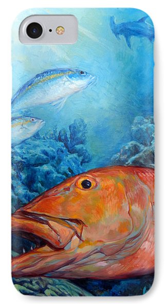 The Reef IPhone Case by Tom Dauria