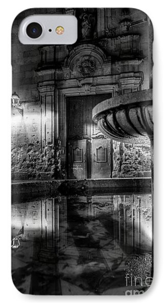 The Reflection Of Fountain IPhone Case by Erhan OZBIYIK