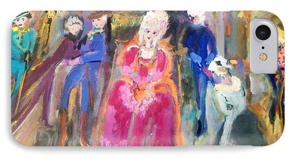 The Regency Ballet Phone Case by Judith Desrosiers