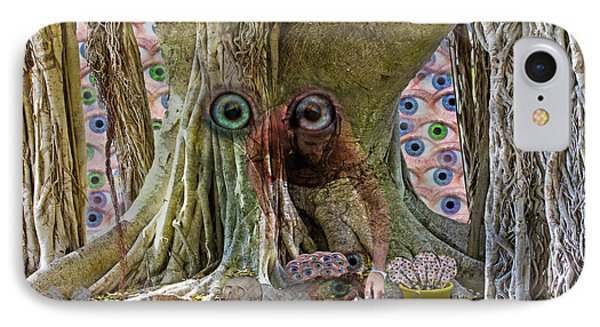 The Reincarnation Of Seeing IPhone Case by Betsy Knapp