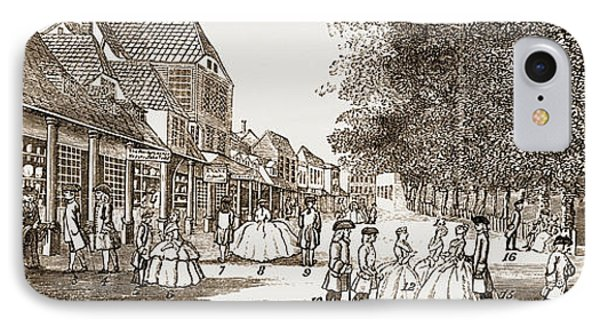 The Remarkable Characters Who Were At Tunbridge Wells IPhone Case by Litz Collection