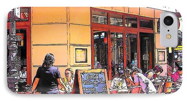 The Restaurant On The Corner Paris IPhone Case