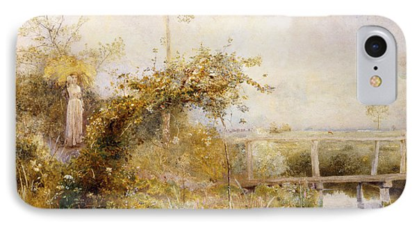 The Return From The Harvest Field Phone Case by John William North