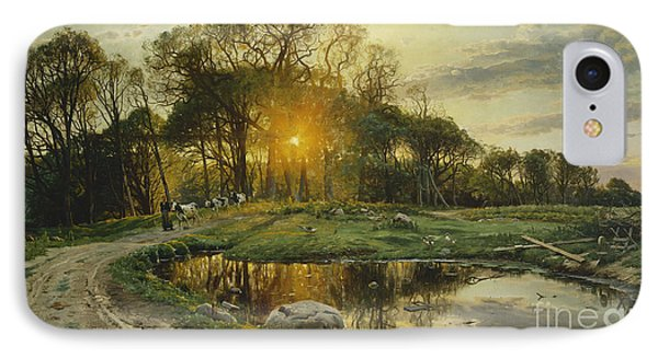 The Return Home IPhone Case by Peder Monsted