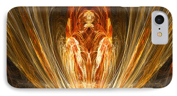 The Return Of The King IPhone Case by R Thomas Brass