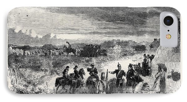 The Review On Saturday Last At Wimbledon Common Skirmishers IPhone Case