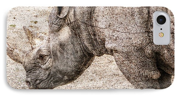 The Rhino IPhone Case by Ray Van Gundy