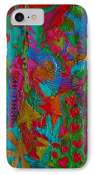 The Rhythm Of Life IPhone Case by Catherine Redmayne