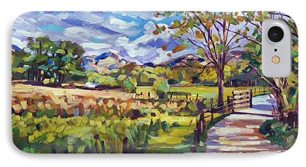 The Ride Home IPhone Case by David Lloyd Glover