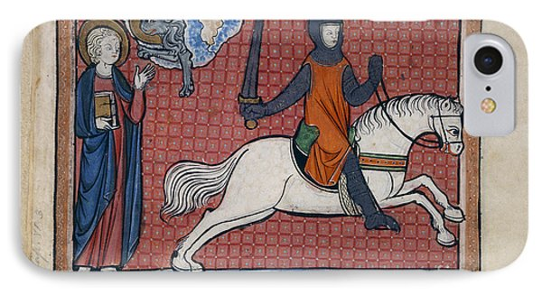 The Rider On Red Horse IPhone Case by British Library