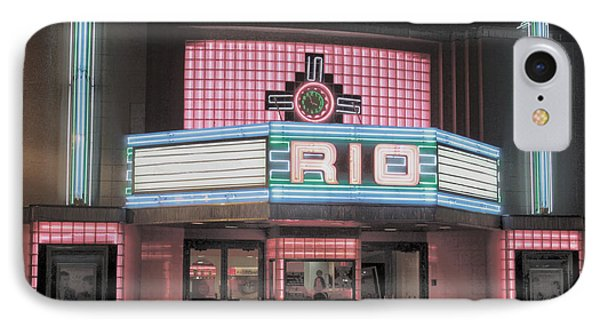 The Rio At Night IPhone Case by Lynn Sprowl