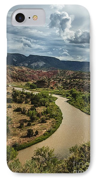IPhone Case featuring the photograph The Rio Chama by Terry Rowe