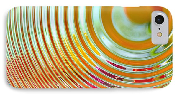 The Ripple Effect IPhone Case by Mary Machare