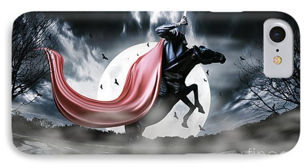 The Rise Of The Headless Horseman IPhone Case by Jorgo Photography - Wall Art Gallery