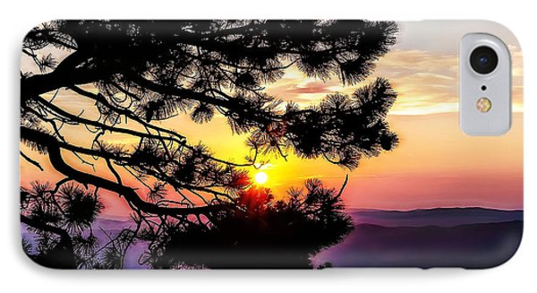 The Rising Sun-2 IPhone Case by Nancy Marie Ricketts