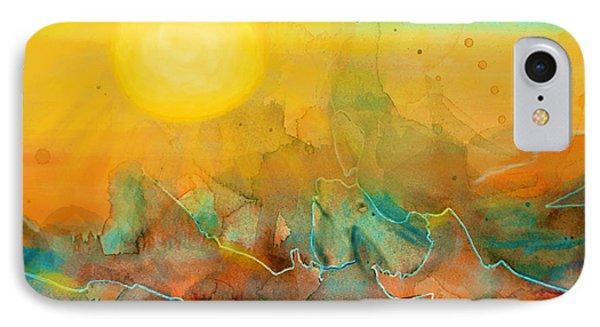 The Rising Sun Phone Case by Sandi OReilly