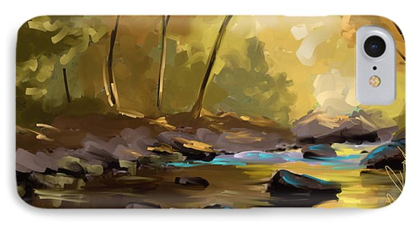 The River At Ocoee IPhone Case