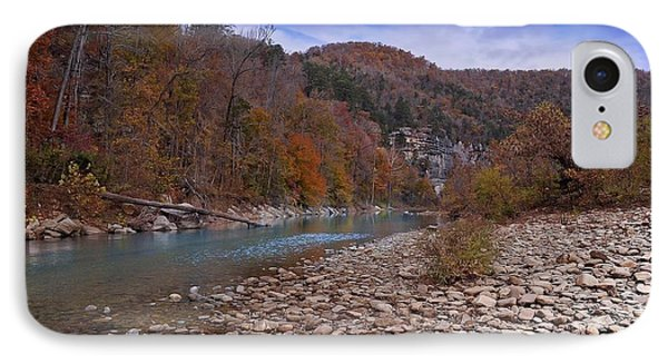 IPhone Case featuring the photograph The River Runs Through by Renee Hardison