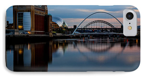 The River Tyne IPhone Case