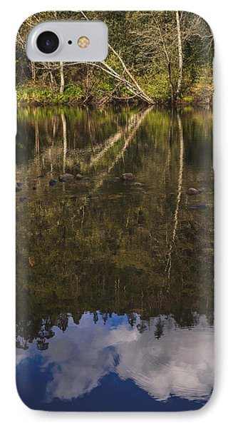 The River Vii IPhone Case by Marco Oliveira
