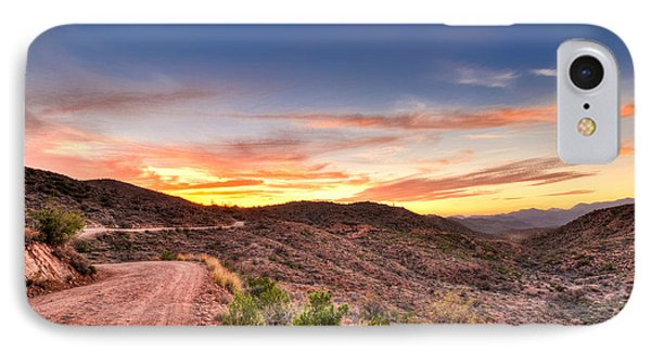 The Road Ahead IPhone Case by Anthony Citro