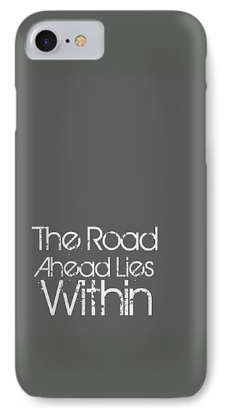 The Road Ahead IPhone Case by Brandon Addis