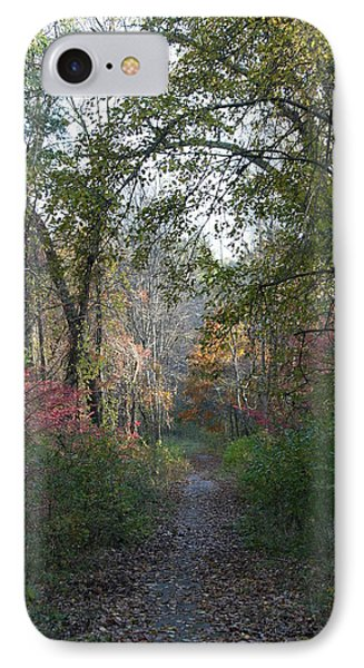 The Road Ahead No.2 IPhone Case by Neal Eslinger