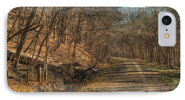 The Road Goes Ever On Phone Case by William Fields