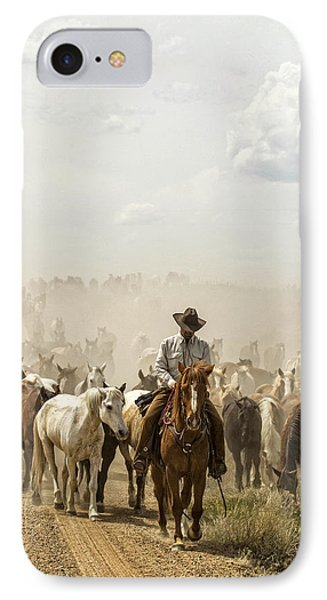 The Road Home 2013 IPhone Case by Joan Davis
