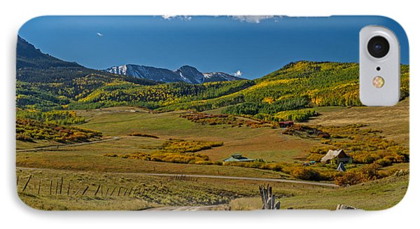 The Road Home In Colorado IPhone Case