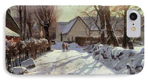 The Road Home Phone Case by Peder Monsted