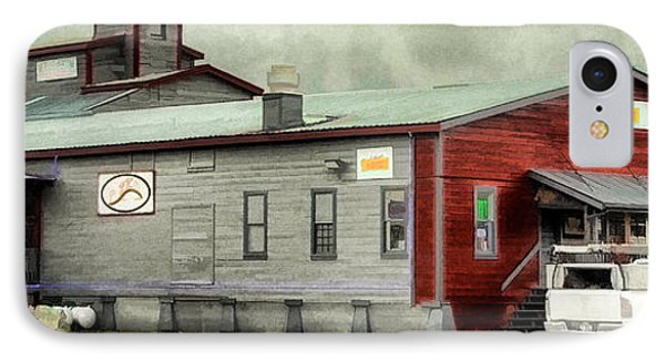 IPhone Case featuring the digital art The Road House by Sam Rosen