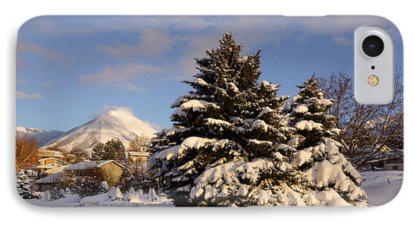 The Road In The Snow IPhone Case by Gloria Pasko
