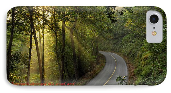 IPhone Case featuring the photograph The Road Less Traveled 2 by Dan Myers