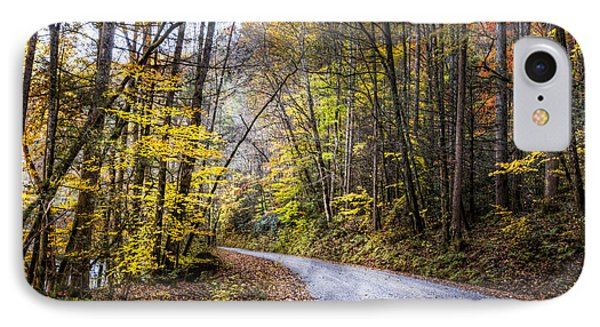 The Road Less Traveled IPhone Case by Debra and Dave Vanderlaan