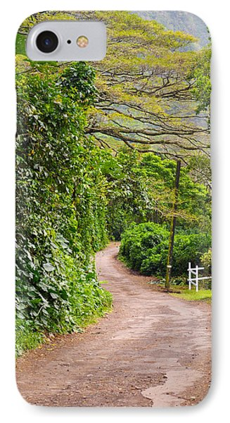 The Road Less Traveled IPhone Case by Denise Bird