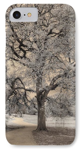 The Road Less Traveled IPhone Case by Jane Linders