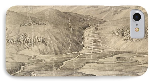 The Road Over Corryarick Hills IPhone Case by British Library