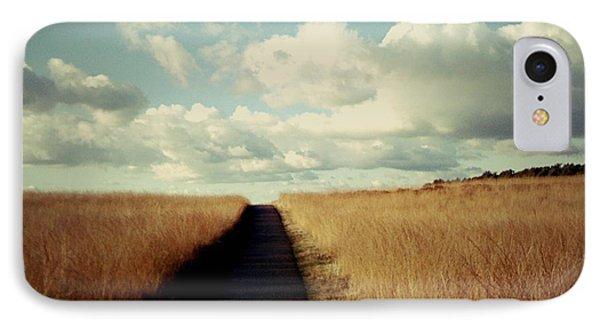 The Road Rarely Taken Phone Case by Beril Sirmacek