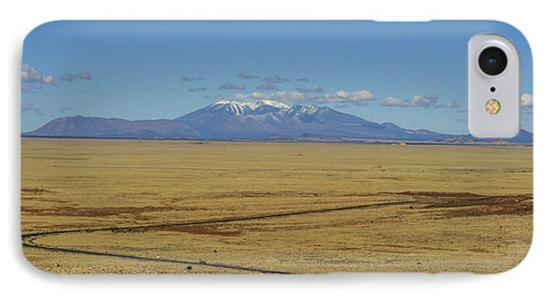 The Road To Flagstaff IPhone Case by Alan Marlowe