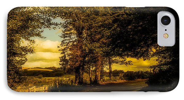 IPhone Case featuring the photograph The Road To Litlington by Chris Lord