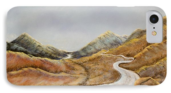 IPhone Case featuring the painting The Road To Nowhere by Susan Culver