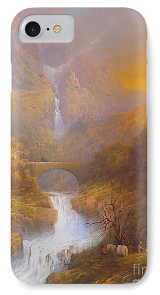 The Road To Rivendell The Lord Of The Rings Tolkien Inspired Art  IPhone 7 Case by Joe  Gilronan
