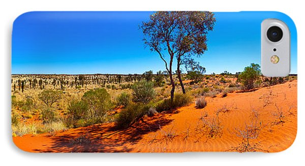 The Road To Uluru IPhone Case