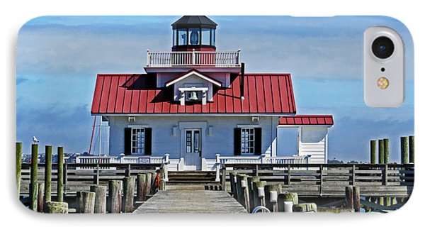 The Roanoke Marshes Lighthouse  IPhone Case