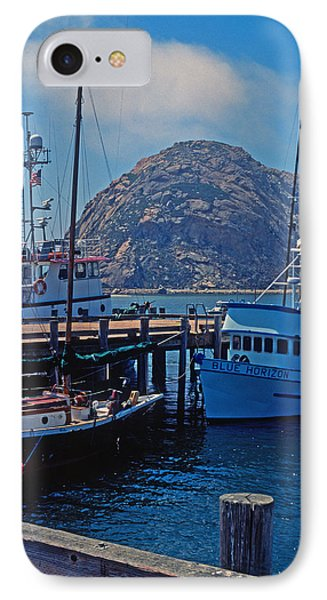 The Rock At Morro Bay Phone Case by Kathy Yates