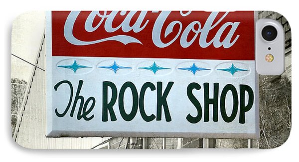 The Rock Shop IPhone Case by Pete Trenholm