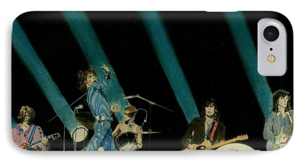 The Rolling Stones - Rip This Joint Phone Case by Sean Connolly