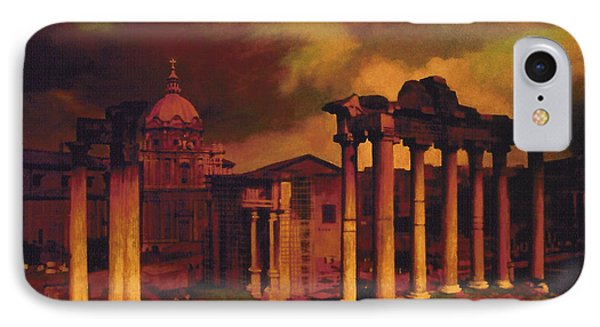 The Roman Forum IPhone Case by Blue Sky